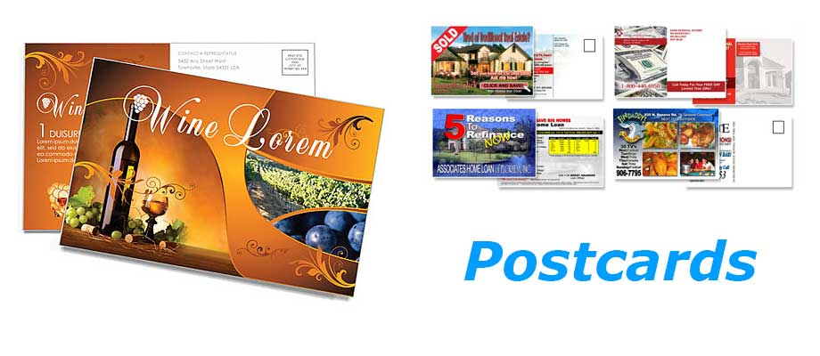 medford oregon commercial printer; printing Full Color Postcards